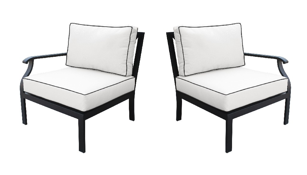 Tk Classics Left Arm Sofa Right Arm Sofa Snow