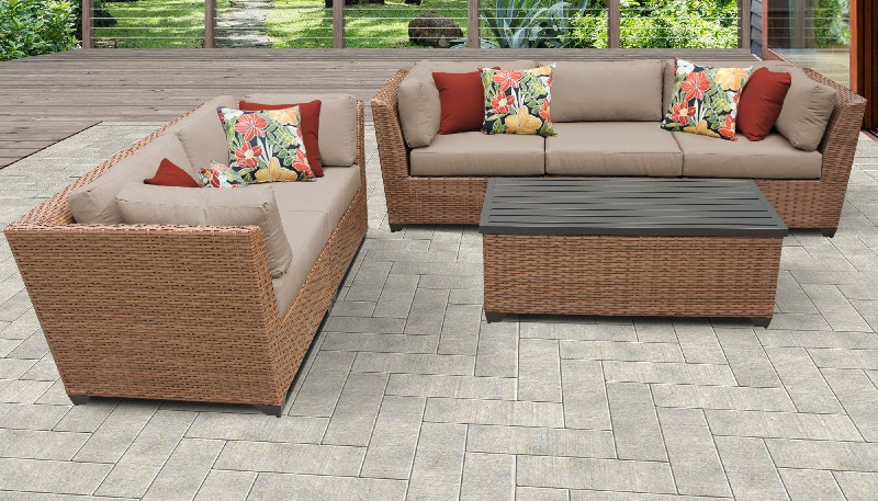 Tk Classics Patio Set Outdoor Wicker