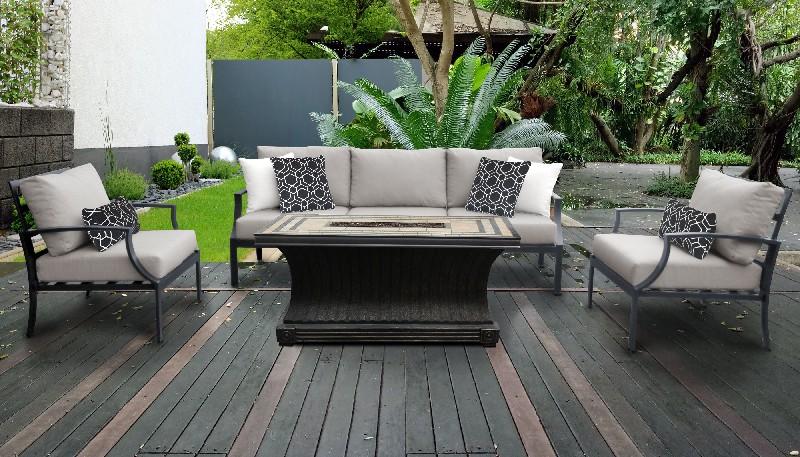 Tk Classics Patio Set Outdoor Aluminum