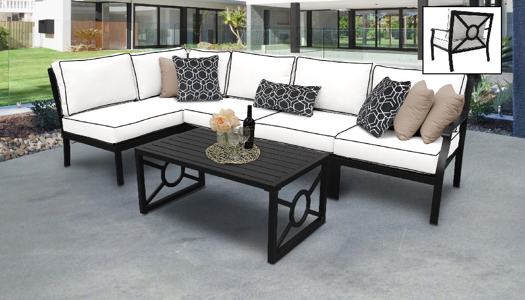 Tk Classics Furniture Patio Set Outdoor Aluminum Photo