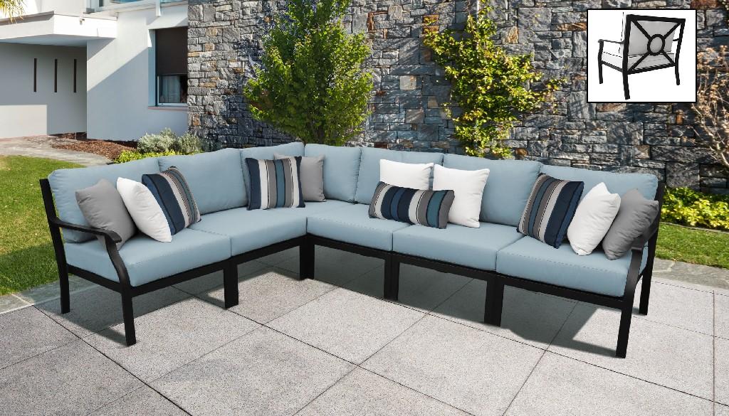 Tk Classics Outdoor Aluminum Patio Set V Tranquil