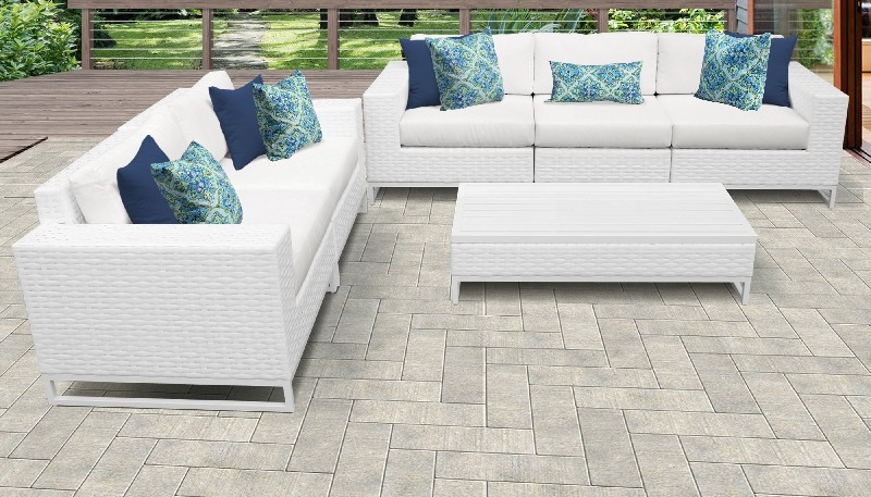 Tk Classics Furniture Patio Set Outdoor Wicker Photo