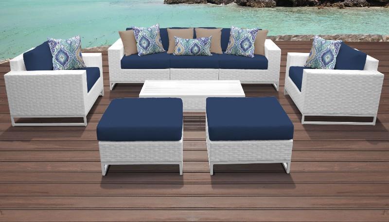 barbados 11 piece outdoor wicker patio furniture set 11a in spa tk classics barbados 11a spa