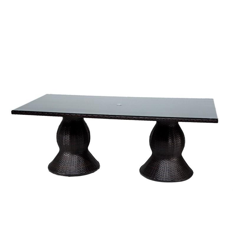 Tk Classics Dining Table Rectangular Patio