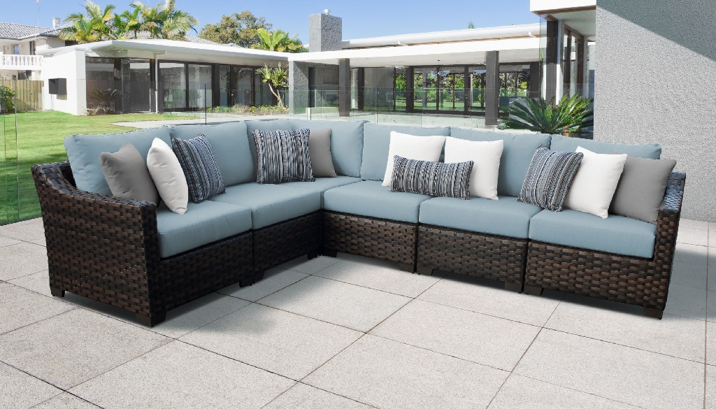 Tk Classics Outdoor Wicker Patio Set V Tranquil