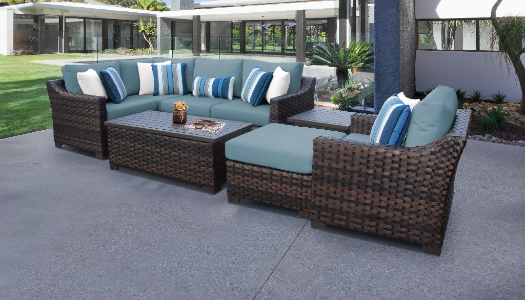Tk Classics Outdoor Wicker Patio Set Tranquil