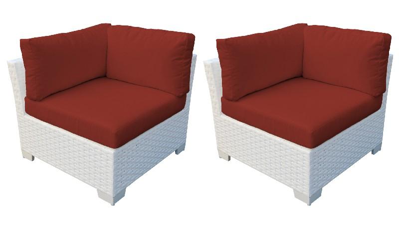 Tk Classics Corner Sofa Per Box Terracotta