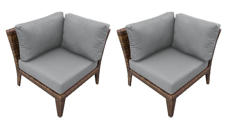 Tk Classics Manhattan Corner Sofa Per Box Grey