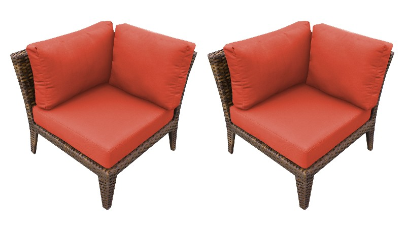 Tk Classics Manhattan Corner Sofa Per Box Tangerine