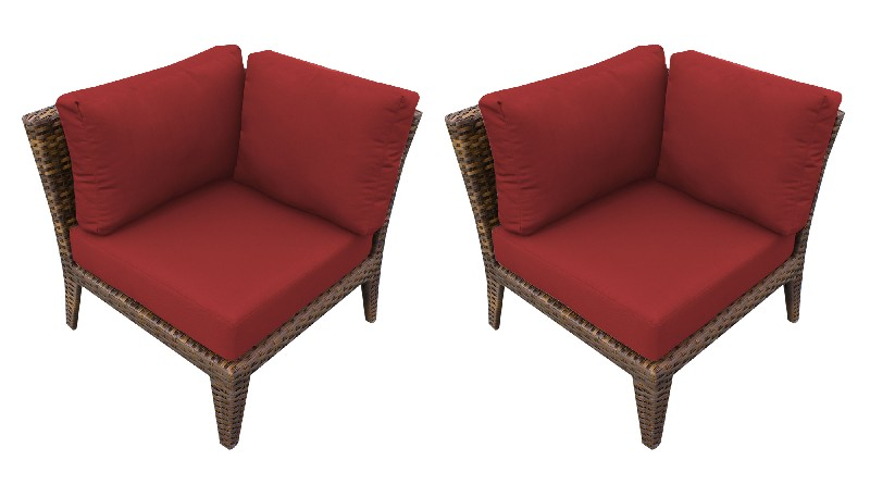 Tk Classics Manhattan Corner Sofa Per Box Terracotta