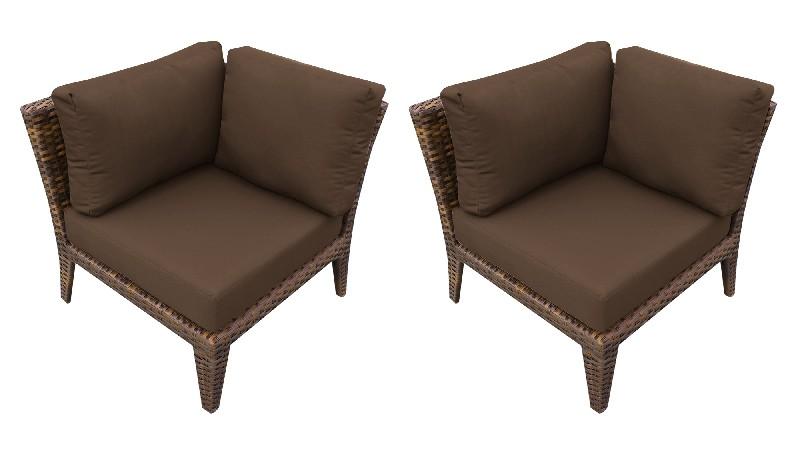 Tk Classics Manhattan Corner Sofa Per Box Cocoa