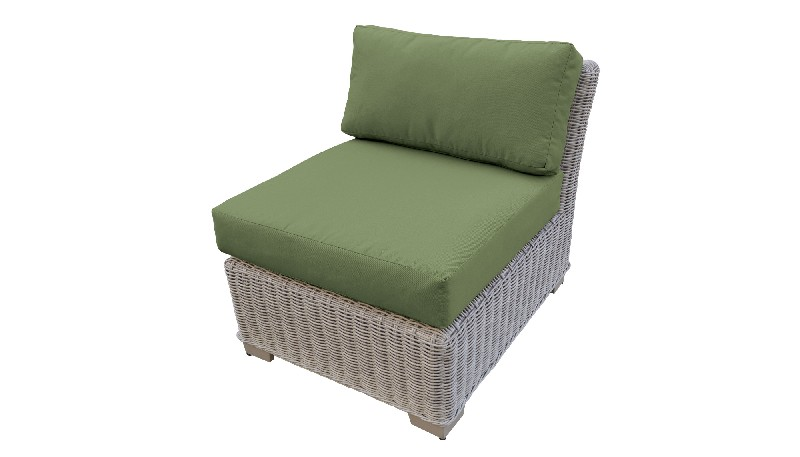 Tk Classics Armless Sofa Cilantro