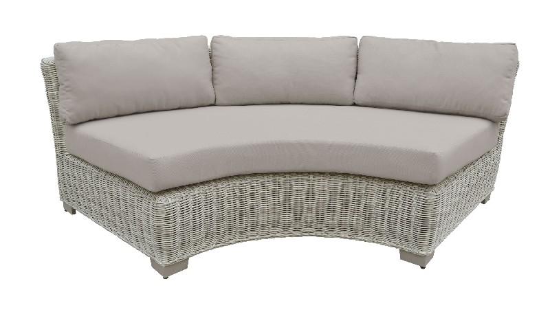 Curved Armless Sofa