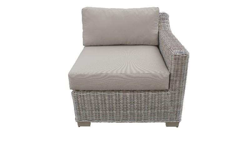 Left Arm Sofa Beige