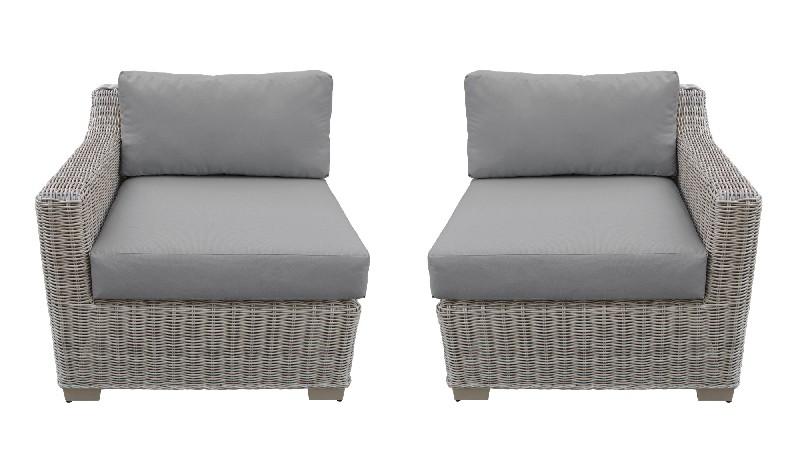 Tk Classics Left Arm Sofa Right Arm Sofa Grey