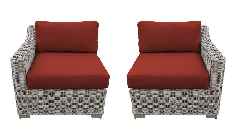 Tk Classics Left Arm Sofa Right Arm Sofa Terracotta