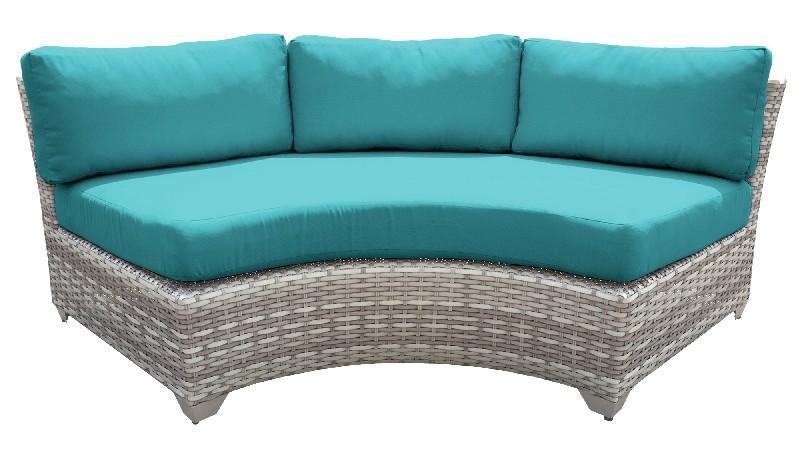 Tk Classics Curved Armless Sofa Aruba