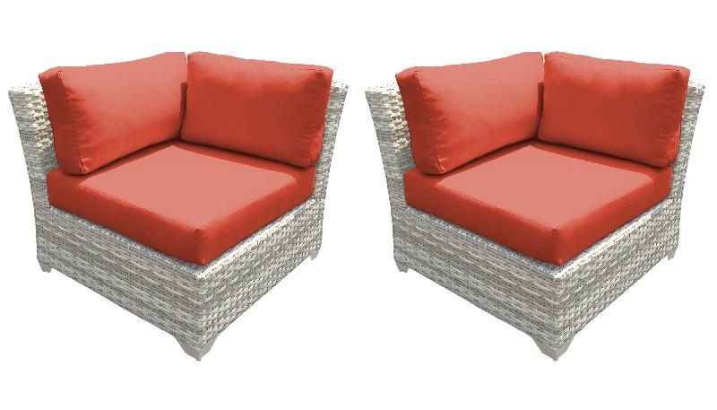 Tk Classics Corner Sofa Per Box Tangerine