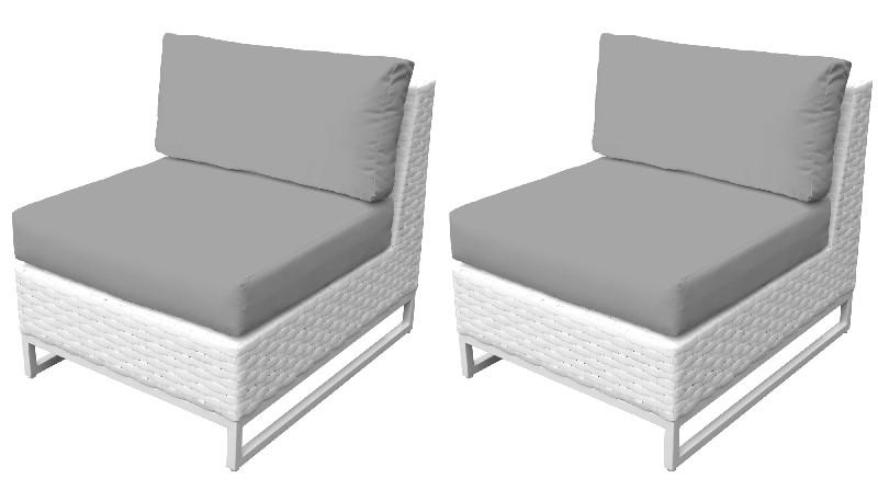 Tk Classics Armless Sofa Per Box Grey