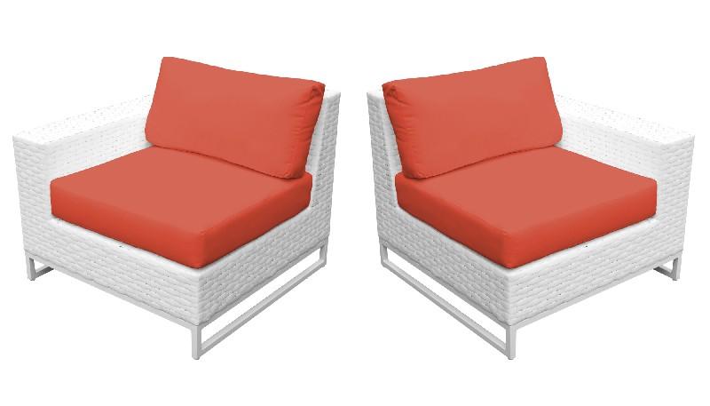 Tk Classics Left Arm Sofa Right Arm Sofa Tangerine