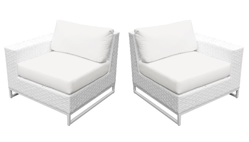 Tk Classics Left Arm Sofa Right Arm Sofa Sail White