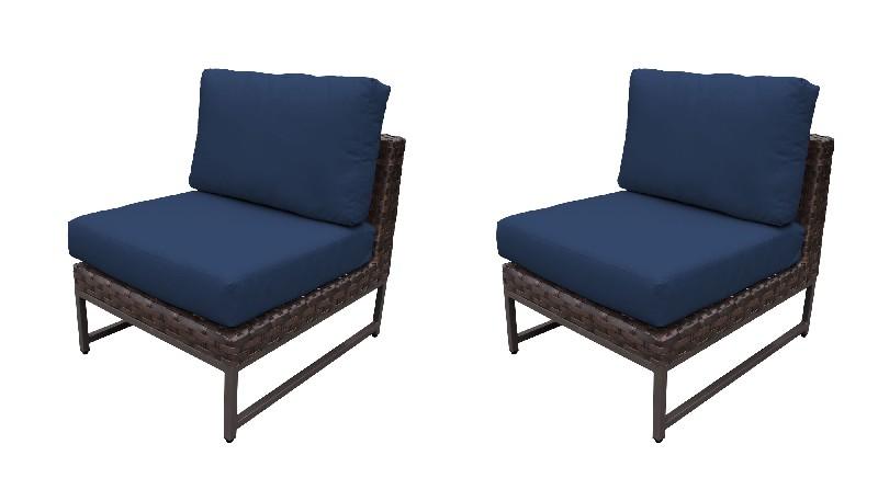 Tk Classics Armless Sofa Per Box Navy
