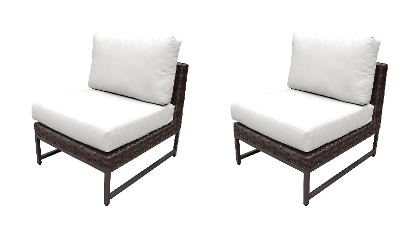 Tk Classics Armless Sofa Per Box Sail White