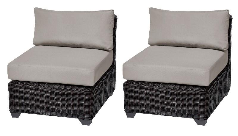 Tk Classics Armless Sofa Per Box Beige