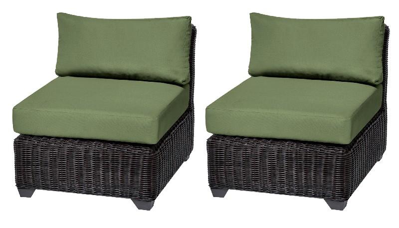 Tk Classics Armless Sofa Per Box Cilantro
