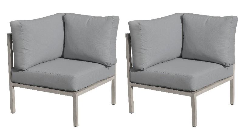 Tk Classics Corner Sofa Per Box Grey