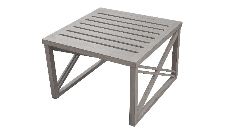 Carlisle Storage End Table in Greige - TK Classics Tkc065B-Et