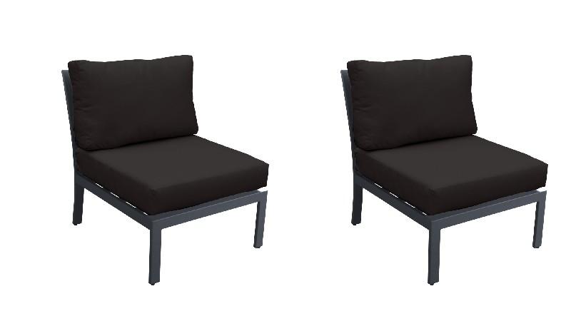 Tk Classics Armless Sofa Per Box Black