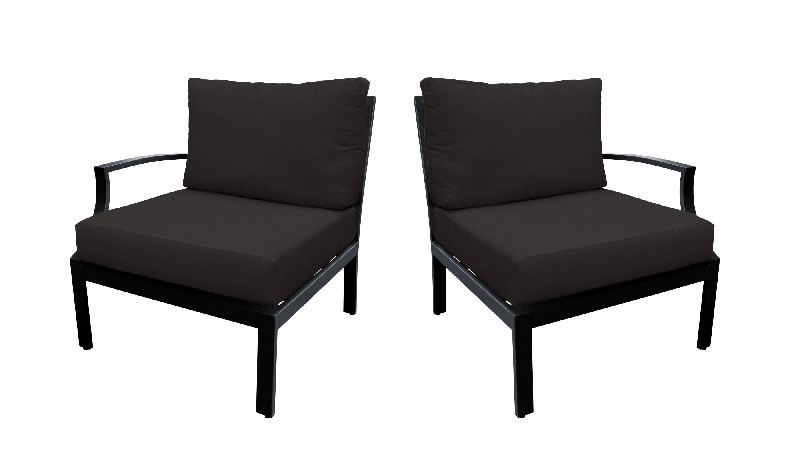 Tk Classics Left Arm Sofa Right Arm Sofa Black