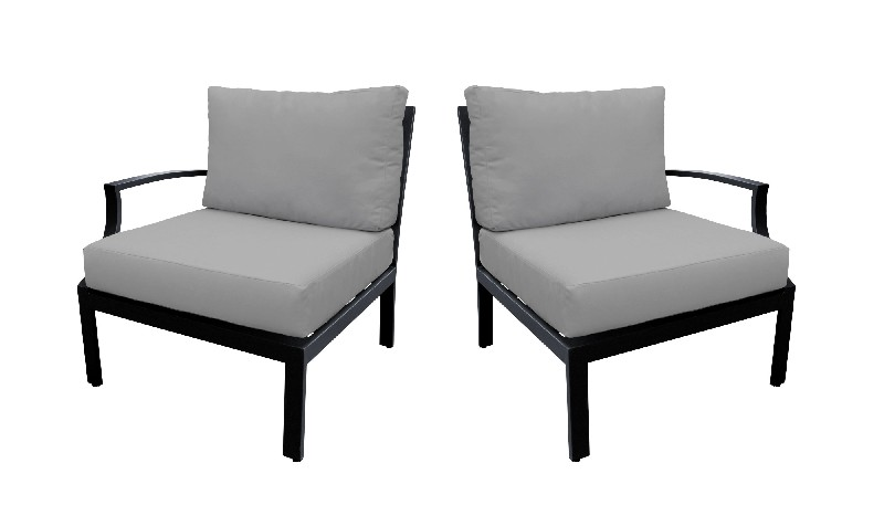 Tk Classics Left Arm Sofa Right Arm Sofa Grey