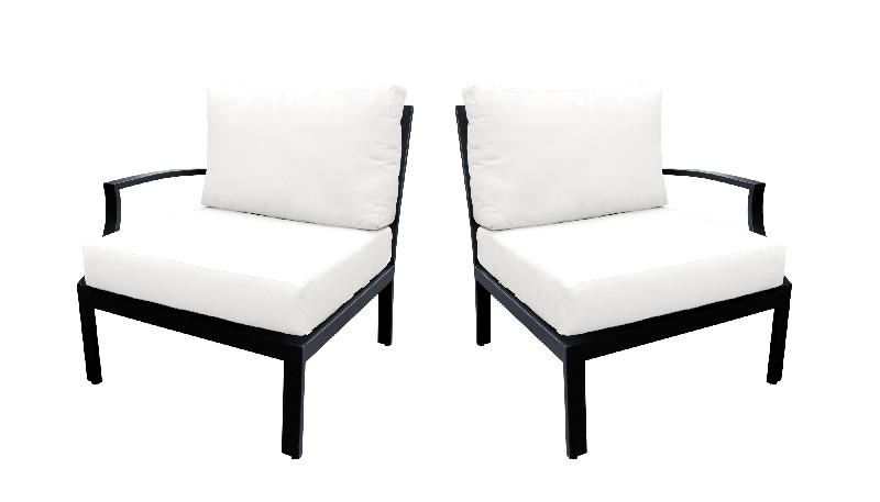 Tk Classics Left Arm Sofa Right Arm Sofa White