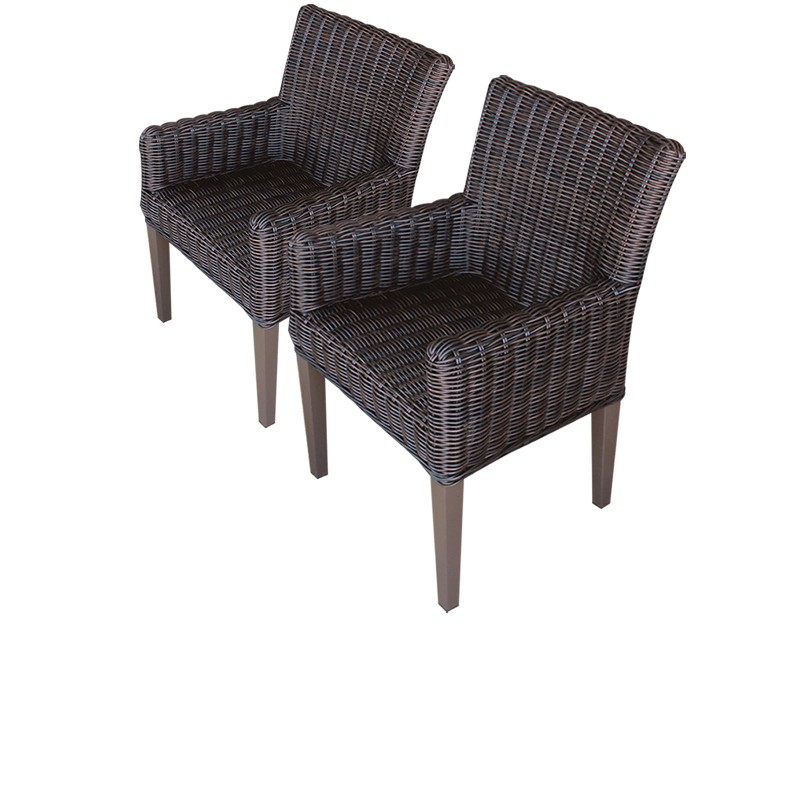 Tk Classics Dining Chairs Arms Black