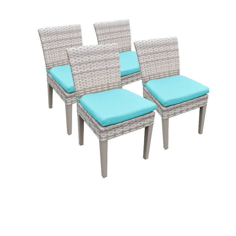 Tk Classics Armless Dining Chairs Aruba