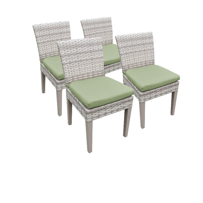 Tk Classics Armless Dining Chairs Cilantro
