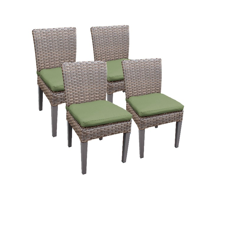 Tk Classics Armless Dining Chairs Cilantro