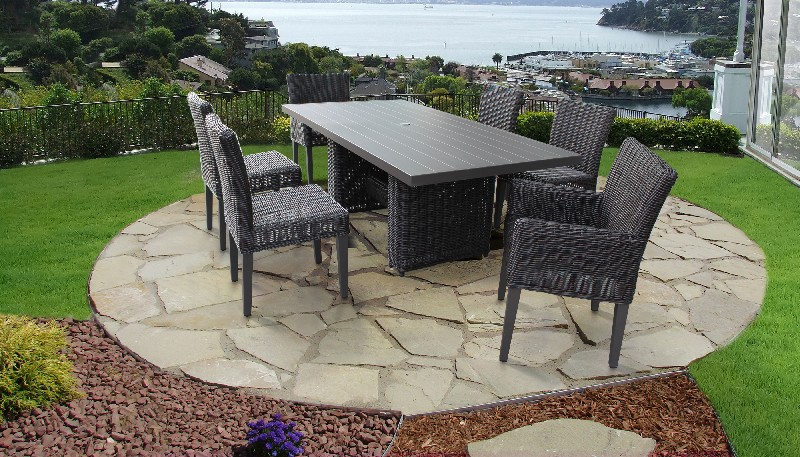 Tk Classics Dining Table Rectangular Patio Armless Chairs Chairs Arms