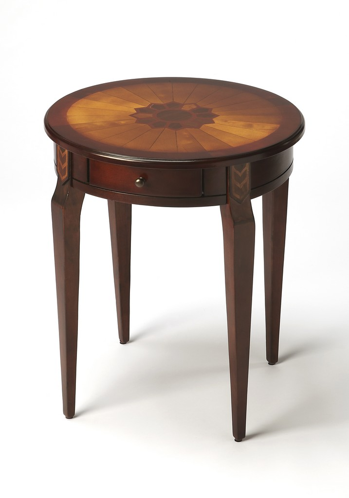 Archer Plantation Cherry Side Table - Butler Specialty 341024