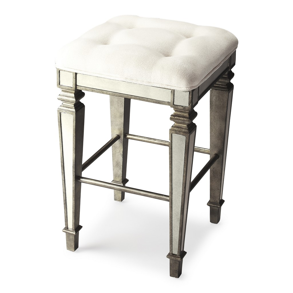 Celeste Mirrored Bar Stool - Butler Specialty 3505146