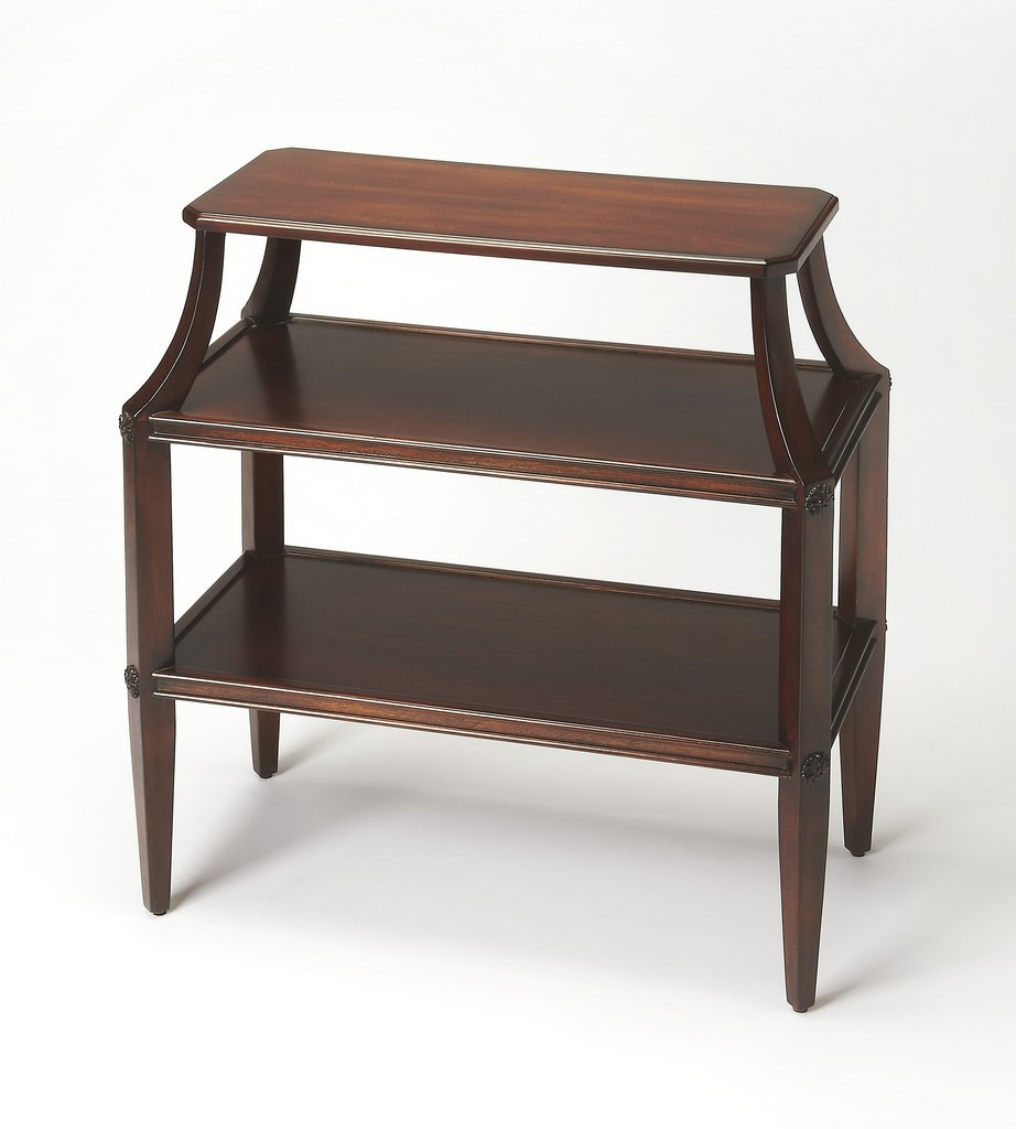 Appleton Plantation Cherry Tiered Console Table - Butler Specialty 3626024