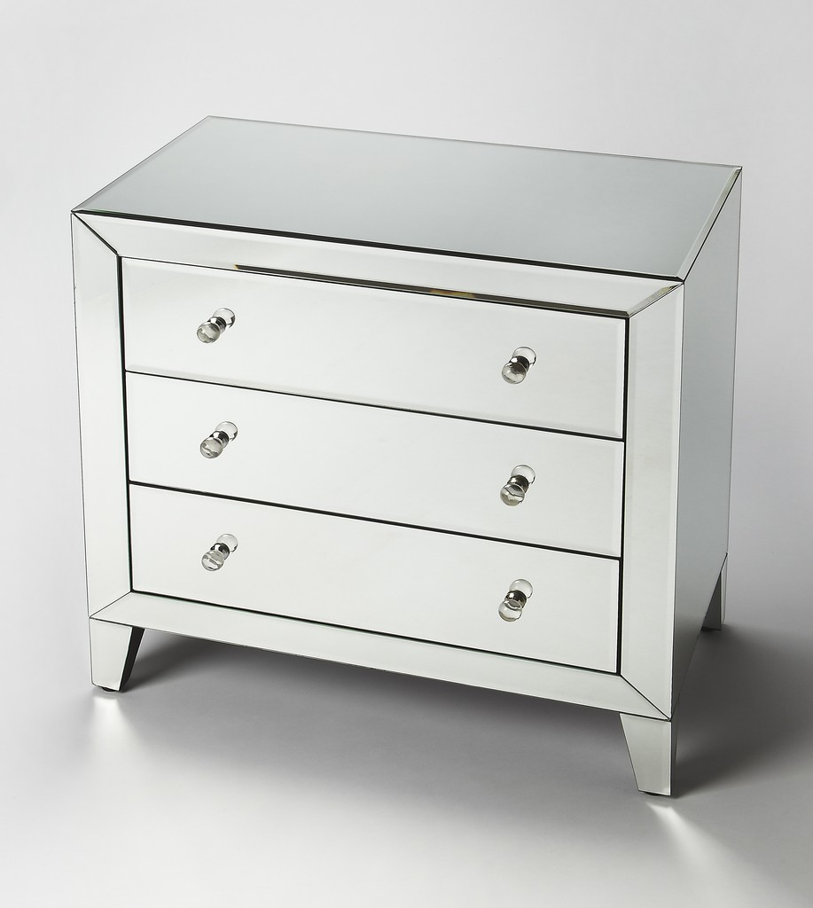 Emily Mirrored Drawer Chest - Butler Specialty 3800146