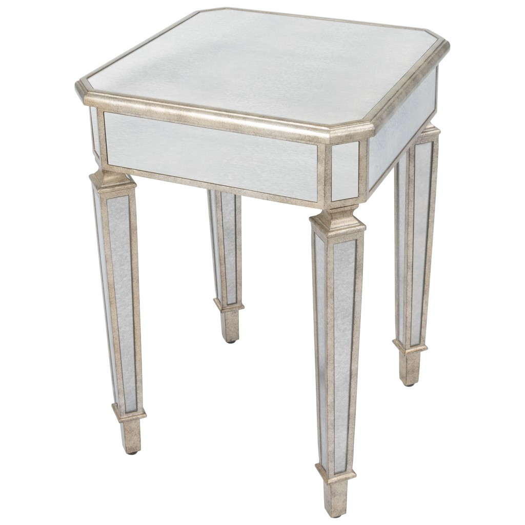 Celeste Mirrored End Table - Butler Specialty 3806146