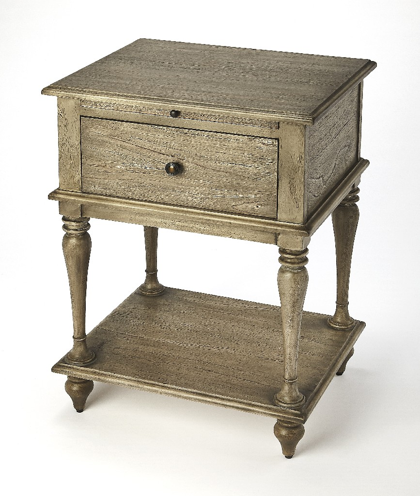Ashburn End Table in Gray Dawn - Butler Specialty 4373280