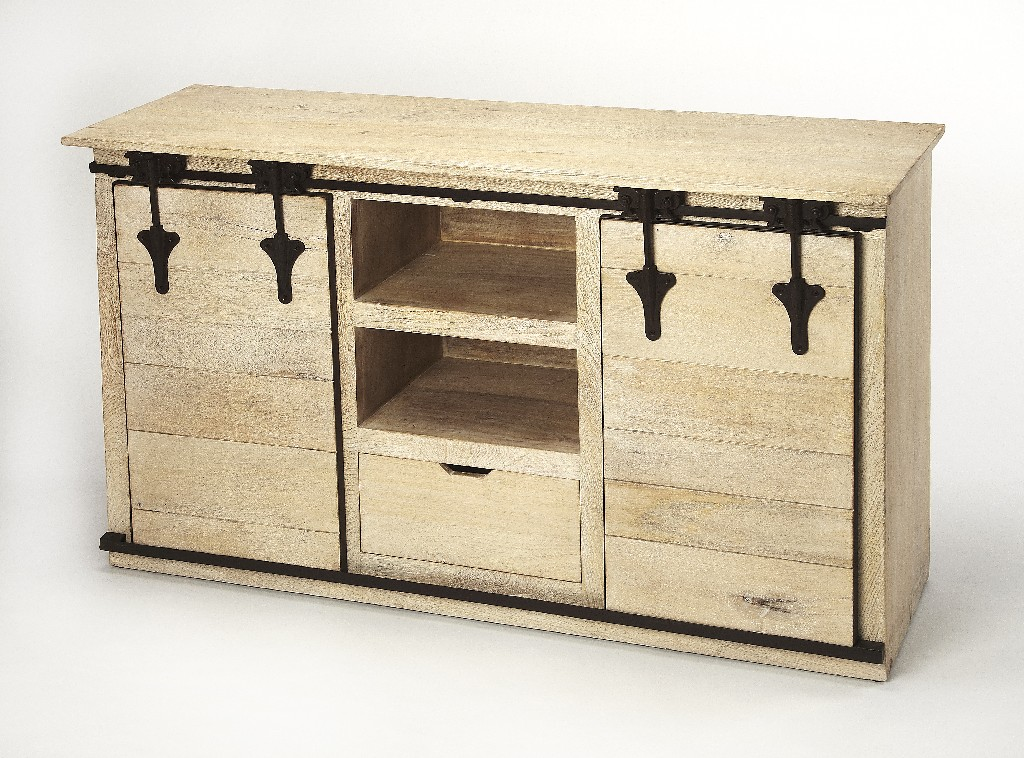 Aneto Entertainment Console in Rustic - Butler Specialty 4449330