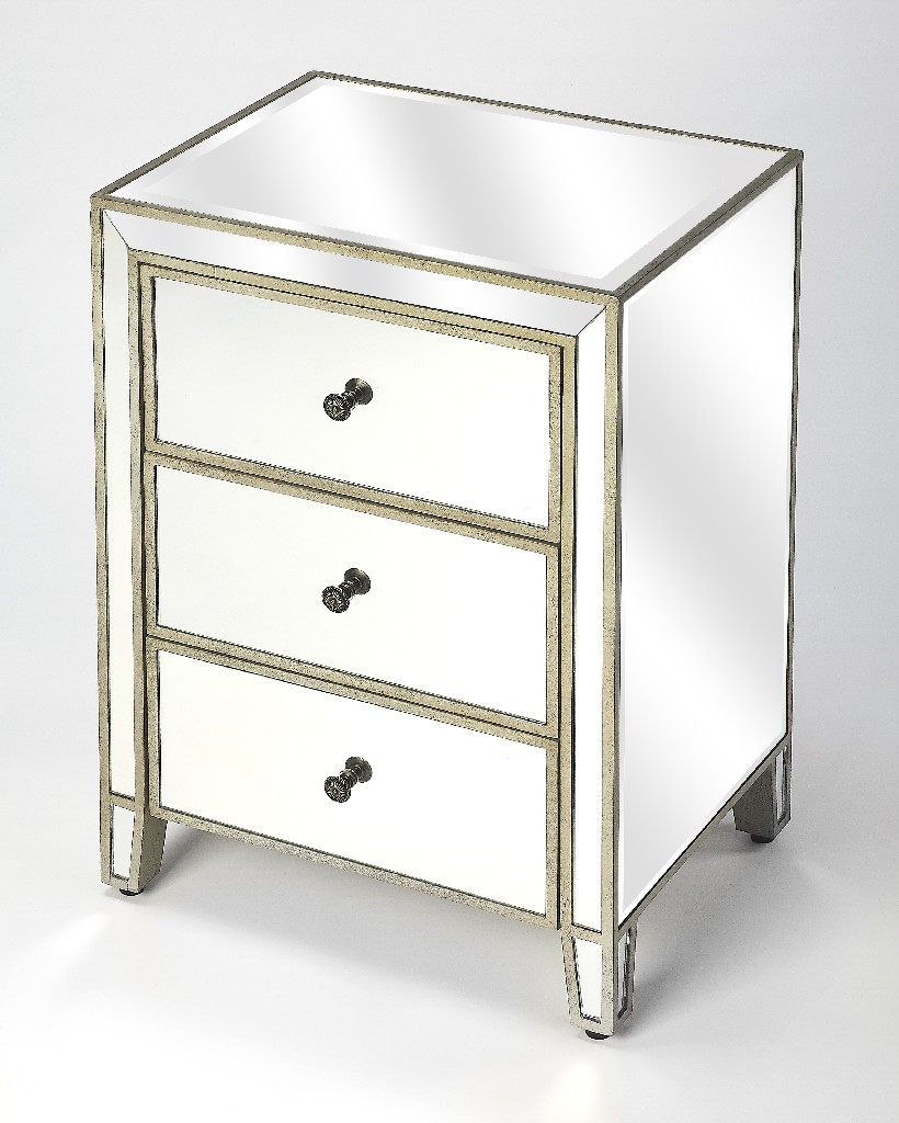 Cali Drawer Chest in Mirrored - Butler Specialty 5335146