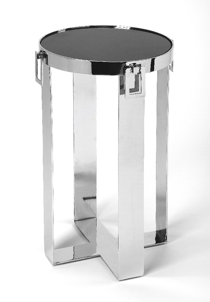 Westwood Accent Table in Stone & Metal - Butler Specialty 5344220