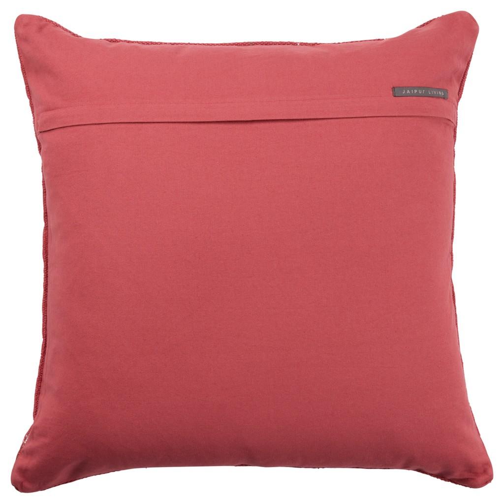 Jaipur Living Abeni Tribal Red/ Brown Poly Throw Pillow 24 inch - PLW103624